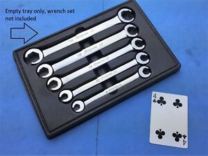 Snap On Empty Display Tray Only Metric Flare Nut Wrench Set 9 21mm Rxfms606b