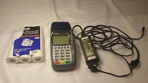 Verifone Bx 570 Credit Card Reader Terminal With Power Cord And 7 Pack Paper
