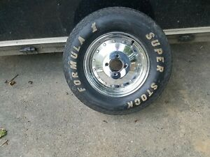 Nos Vintage Speed Shop Display Cragar Sst Wheel Formula Super Stock Tire