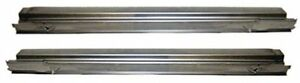 1956 1957 Chevrolet Factory Rocker Panels Pair Made In The Usa