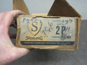 1932 Ford Flathead 221 Nos 20 Over Pistons 1933 1934 1935 1936 1937 1938 1940