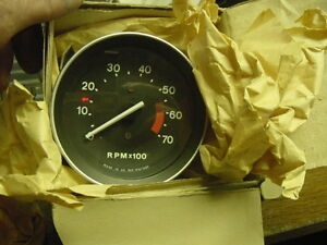Nos new Smiths Tachometer In The Box 1978 80 Mg Midget 1500