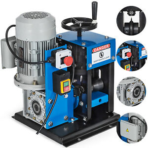16awg 2 1 4 Electric Wire Stripping Machine Metal Recycle 60ft min 2 60mm 1500w