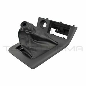 Nissan Skyline R33 Gtr Shift Boot And Console Shift Plate Assembly 96935 26u05
