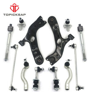 New 12 Front Lower Suspension Kit Control Arm Fit Toyota Rav4 2006 2014 2 5 3 5