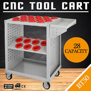 Bt50 Cnc Tool Trolley Cart Holders Toolscoot Service Cart Super Scoot Storage
