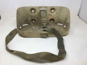 Willys Jeep Mb Gpw M38 M38a1 Original Jerry Can Holder With Strap Old Original