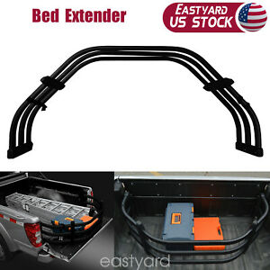 Truck Car Bed Extender Pickup Tailgate Extension Strong Aluminium Alloy Tubes Us
