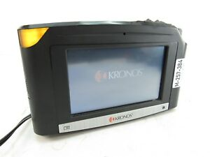 Kronos Intouch 9000 Time Clock W Biometric Id Reader 8609000 022