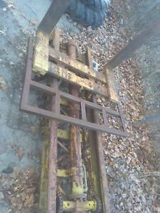 Forklift Mast Forks 3 Point Hitch Lift Pallet Forks