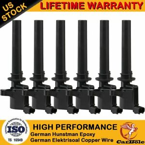 6pack Ignition Coil For 2003 2004 2005 2006 2007 2008 Ford Escape Taurus 3 0l V6