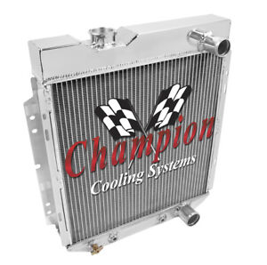 3 Row Performance Champion Radiator For 1964 1965 1966 Ford Mustang V8 Engine