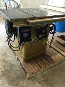Used Powermatic 66 Table Saw 5hp 208 230 460v 3 Phase Heavy Duty Guide