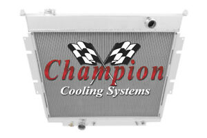 3 Row Perf Champion Radiator For 1983 1994 Ford F Series Pickups V8 Engine
