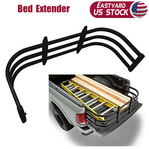 Auto Truck Bed Extender Extension Expander Cargo Holder Organizer Standard Black