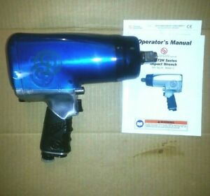 Chicago Pneumatic 772h 6 3 4 Drive Impact New Blue Boot 6 Extended Anvil