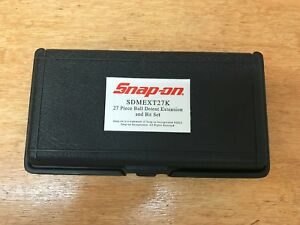 Snap on Tools Extension Bit Storage Case Only Holds 27 Pieces Sdmext27k