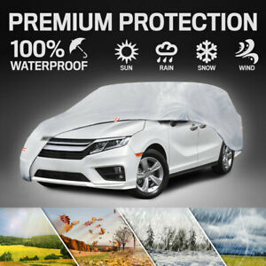 Defender Pro 6 layer Waterproof Van Suv Car Cover For Vehicles Up To 200