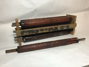 6 10x15 Rubber Chandler Price Letterpress Printing Press Rollers