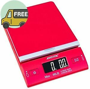 Accuteck Dreamred 86 Lbs Digital Postal Scale Shipping Scale Postage With Usb am