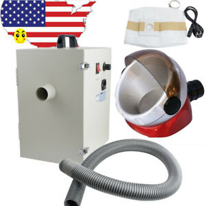 1000w Dental Dust Collector Vacuum Collecting Cleaner Device free Suction Base