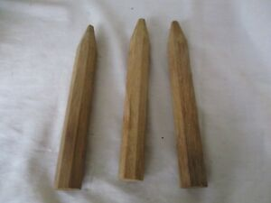 Lot Of 3 Timber Frame Barn Beam Pegs From Ohio
