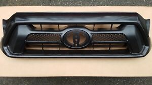 New 2012 2015 Toyota Tacoma Front Bumper Grille Paint To Match Style