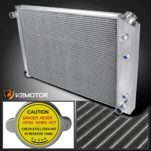 73 78 Chevy Blazer Jimmy Pickup 3 core row Aluminum Cooling Racing Radiator