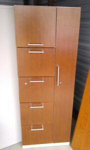 Steelcase Office File Cabinet Storage Closet