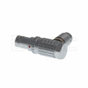 Compatible Fhg 0b 2 3 4 5 6 7 9 Pin Right Angle Elbow Male Connector Plug
