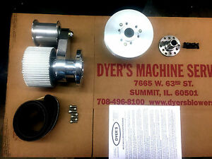 671 Bbc Big Block Chevy Dyer S Blower Drive Kit Polished New 6 71 871 No Cover