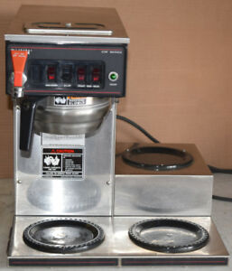 Bunn Cwtf 15 Auto Coffee Brewer With 3 Burners 220 Volt Hot Water Faucet