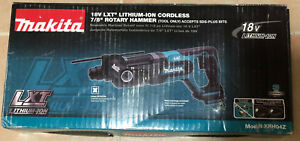 New Makita 18v Lxt 7 8 Sds plus Rotary Hammer Drill Xrh04z tool only