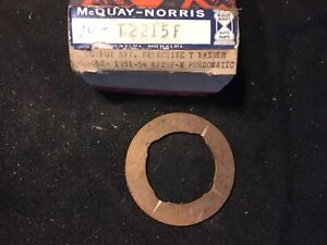 Nos 1951 1954 Fordomatic Output Shaft Selective Thrust Washer 1p 7067a