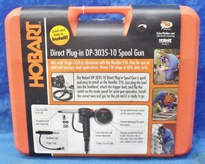 Hobart Direct Plug in Dp 3035 10 Spool Gun With 10 Ft Cable Mig Weld 16ga 300199