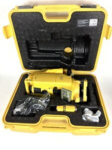 Topcon Dt 209 Digital Theodolite Excellent Condition Free Shipping 2 Available