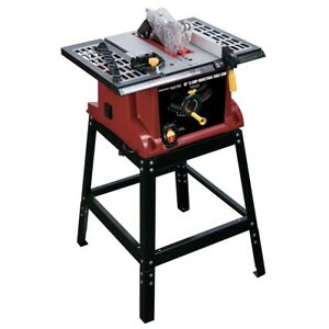 10 In 13 Amp Benchtop Table Saw Cut With Safety Precision With This Table Saw