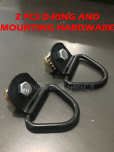 2x Tie Down Cleat Fits Frontier And Titan Utili Track Cargo Hold Downs Hook