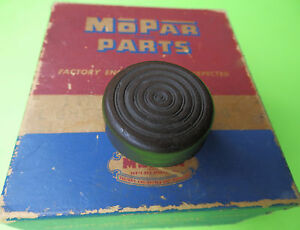 1936 1937 1938 Plymouth Dodge Chrysler Starter Pedal Rubber Pad Oem Mopar Brown
