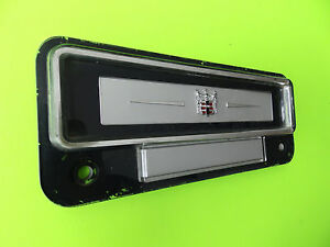 1951 1952 1953 1954 Dodge Radio Delete Cover Plate Mopar Chrysler Oem Part