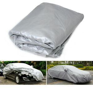 2019 Waterproof Universal Anti Uv Rain Snow Outdoor Full Car Auto Cover M Size