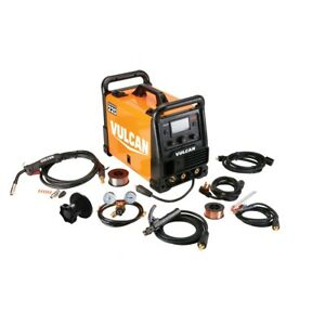 Multi process Welder Mig Tig And Stick Welding 120 240 Volt Input W Color Lcd