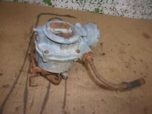 1954 1962 Chevy Pickup 235 Engine Carburetor Carter 1958 1961 Truck Car Oem