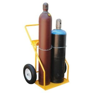 New Economical Welding Cylinder Cart 2 Cylinder Capacity
