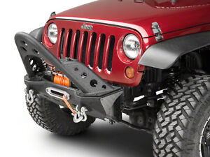 Smittybilt Xrc Mod Front Bumper With Center Stinger 07 17 Jeep Wrangler Jk