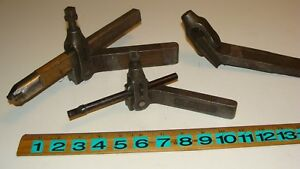 3 Vintage Armstrong Williams Lathe Boring Tool Holders