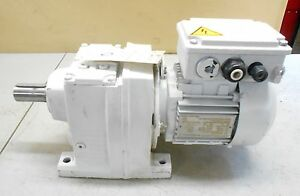 Sew Eurodrive R47 a 112gd Gear Motor Box 37kw 230 400ip55 1 29 Nm290