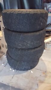 4 Used 35x12 50r18 E General Grabber X3 Mud Terrain 35x1250 18 Tire 1 Year Old