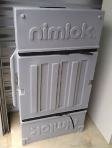Nimlok Tabletop Display Panels W Case