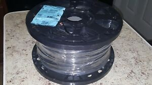 Encore Wire 8 awg Stranded Black Copper Thhn Wire 500 Ft Roll